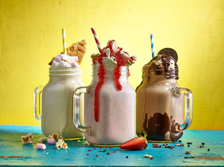 Our Mason Drinking Jars look fantastic when used for milkshake and dessert service! Available to buy online at http://www.mklimited.com/bar-supplies/glassware/cocktail-glasses/45cl-glass-mason-drinking-jar-x12-detail.html