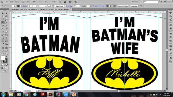 Wedding GiftsWedding presentBatman MugsNewly by TheMugLoft on Etsy