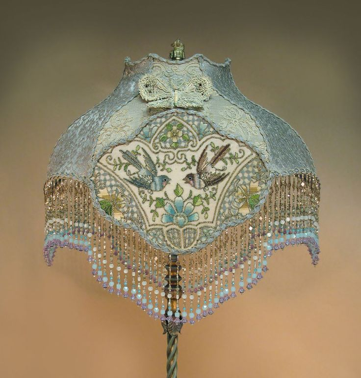 victorian beaded floor lamp with oneofakind beaded victorian lamp