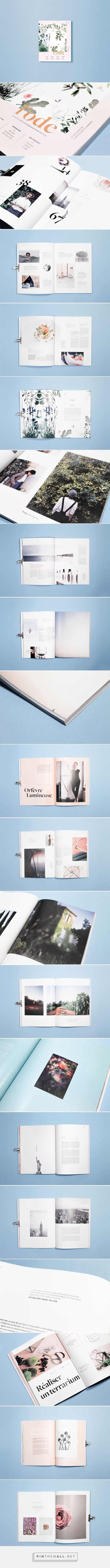 Julie Ferrieux - Behance - l'ode magazine diptyque