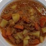 LOW CARB Variation von Kartoffel - Möhren - Hackfleisch/Gulasch - Eintopf (kohlenhydratarm)