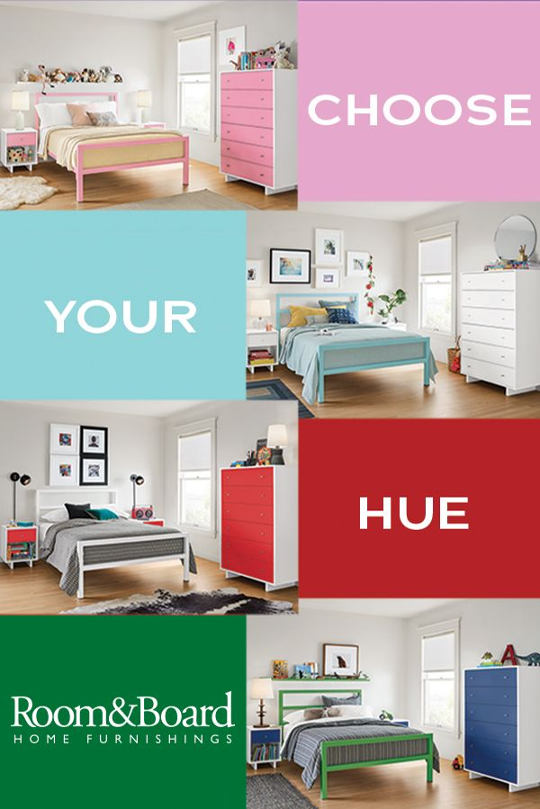 Create a bedroom your kids will love with our modern kids' furniture.