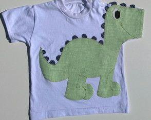 Body ou Camiseta Dinossauro