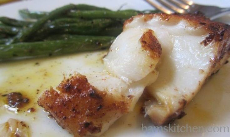 Cajun Blackened Cod - recipe tasted and approved!