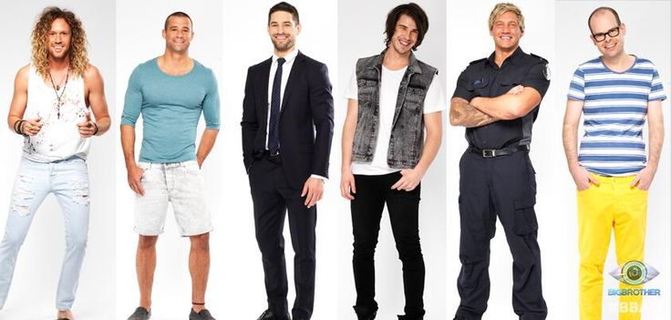 Big Brother Australia 2013 #bbau Tim Matthew Ed Drew Caleb and Ben