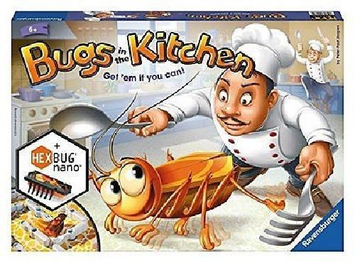 Bugs in the Kitchen Childrens Board Game #Ravensburger