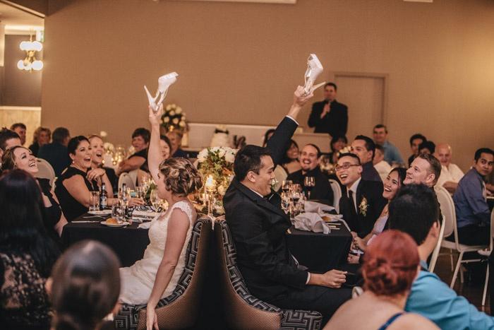 Wedding Shoe Game @mirraprivatedin | G&M DJs | Magnifique Weddings #gmdjs #magnifiqueweddings #brisbanewedding #mirraevents #weddingdjbrisbane @gmdjs