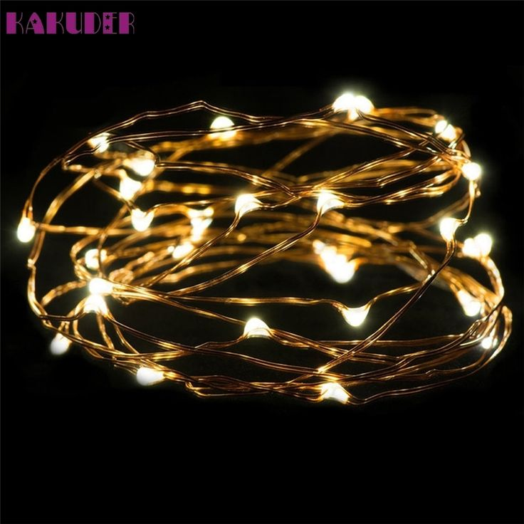 1.4$  Buy here - High Quality   3M 30LED Button Cell Powered Silver Copper Wire Mini Fairy String Lights   #buyonlinewebsite
