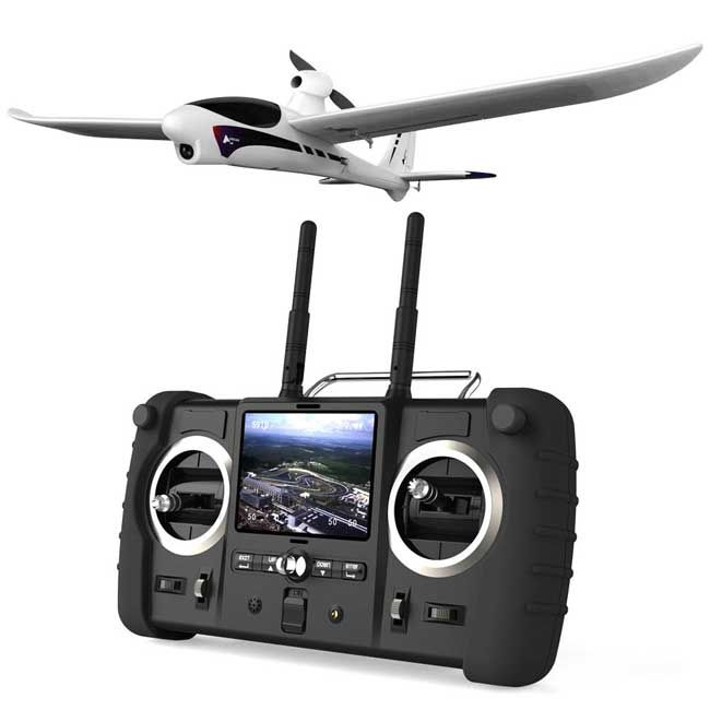 Spy Hawk Stalks from the Skies | This toy can send a live video stream back to the handheld remote control. The flying toy can stay aloft for 15 minutes on a single charge of the lithium-ion battery pack. Video can be recorded to 4 GB of internal flash storage. |