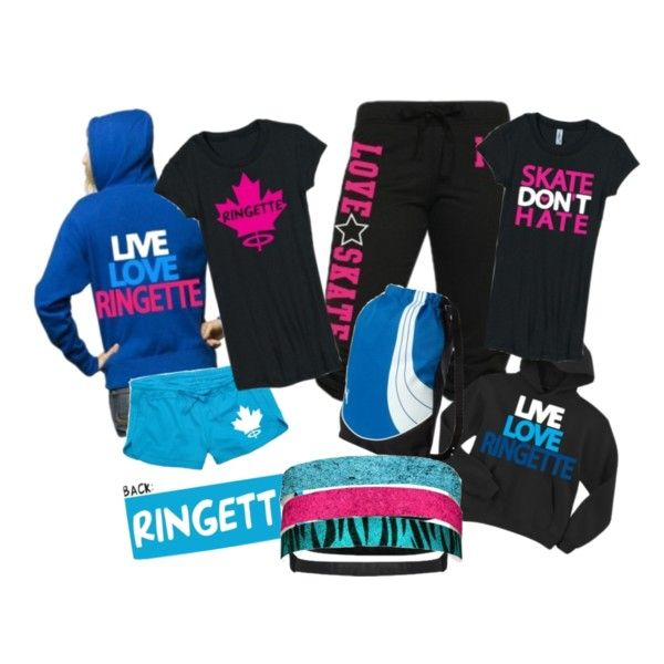 Ringette set for those who play the game!