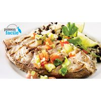 Grilled fish with kiwi salsa DONE THAT!