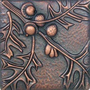 """6' Copper tiles """"Oak"""""""