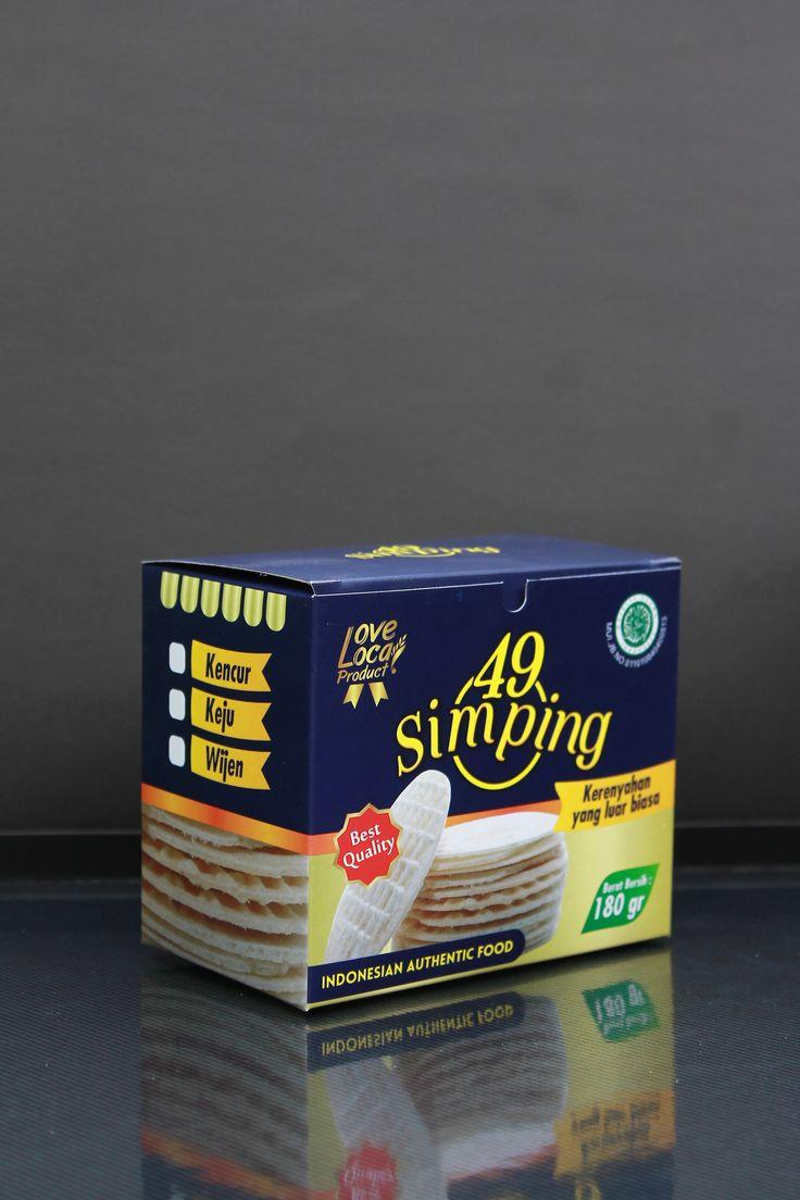 Box sekunder simping chips #design #packaging #Visual #concept #print