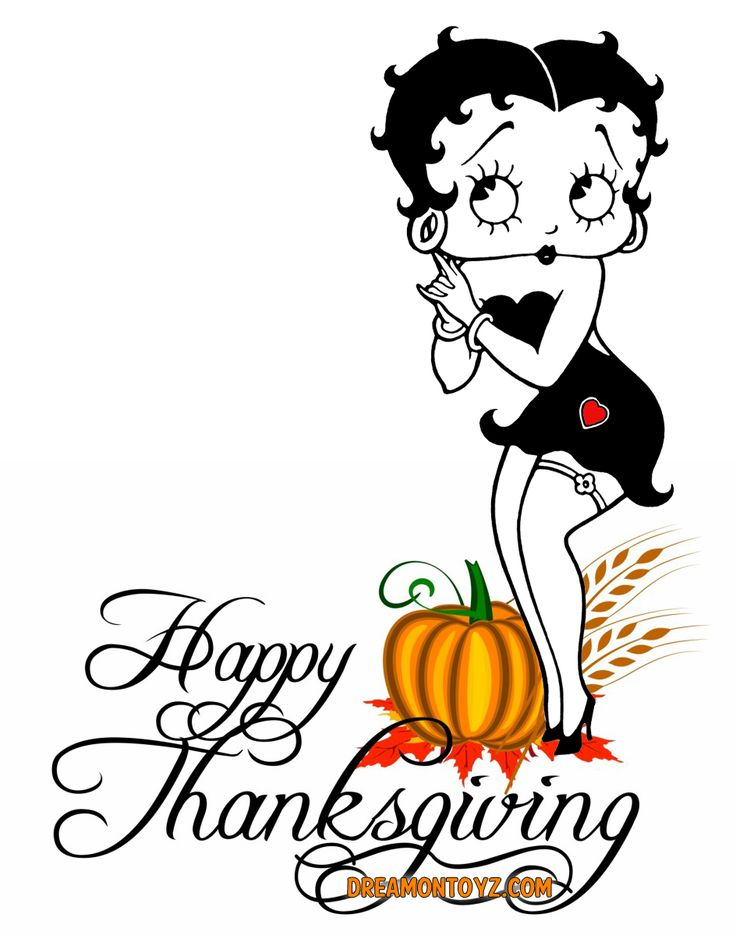 30 best thanksgiving betty boop graphics greetings images on rh pinterest com