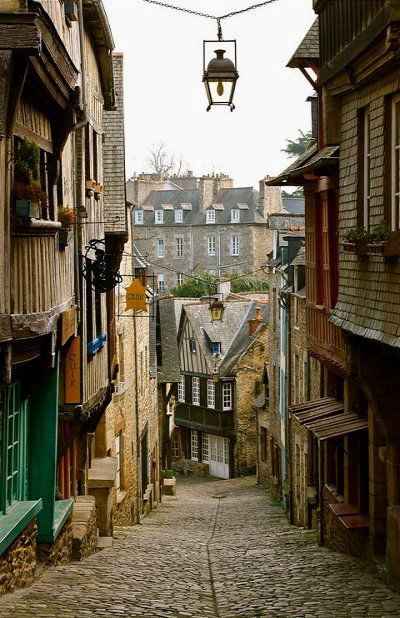 Dinan, Bretagne - France One of my favorite places on Earth - c