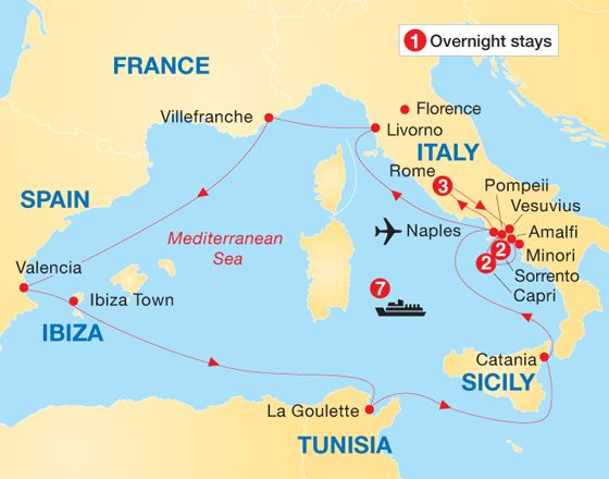 Map Of Capri Italy | My blog
