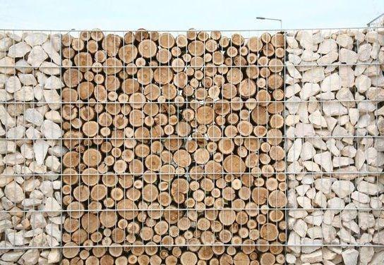 log filled gabion fence http://www.gabion1.com