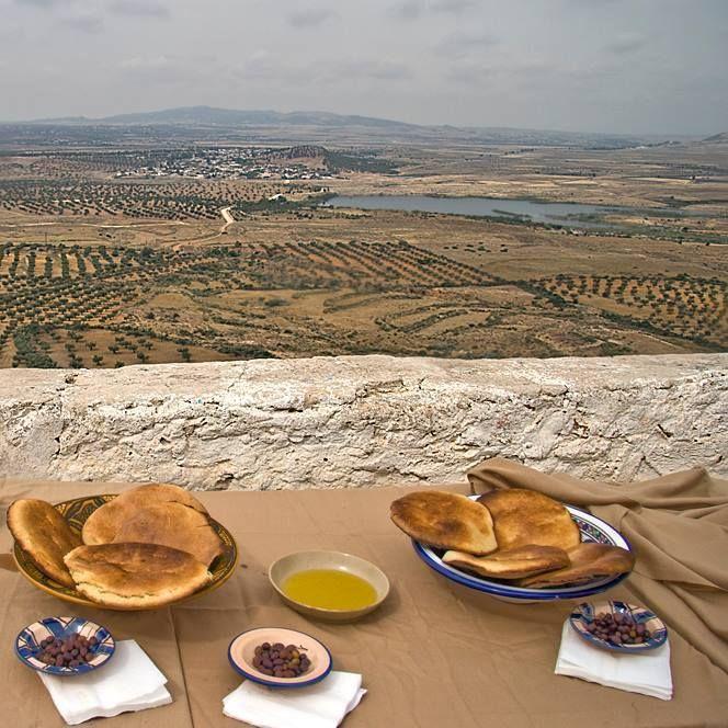 Tunisian Bread and Olive Oil <3