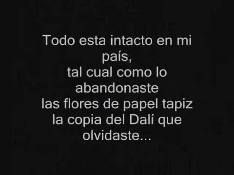 Tocando Fondo - Ricardo Arjona - CON LETRA