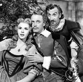 Love Triangle: Roxane, Christian and Cyrano
