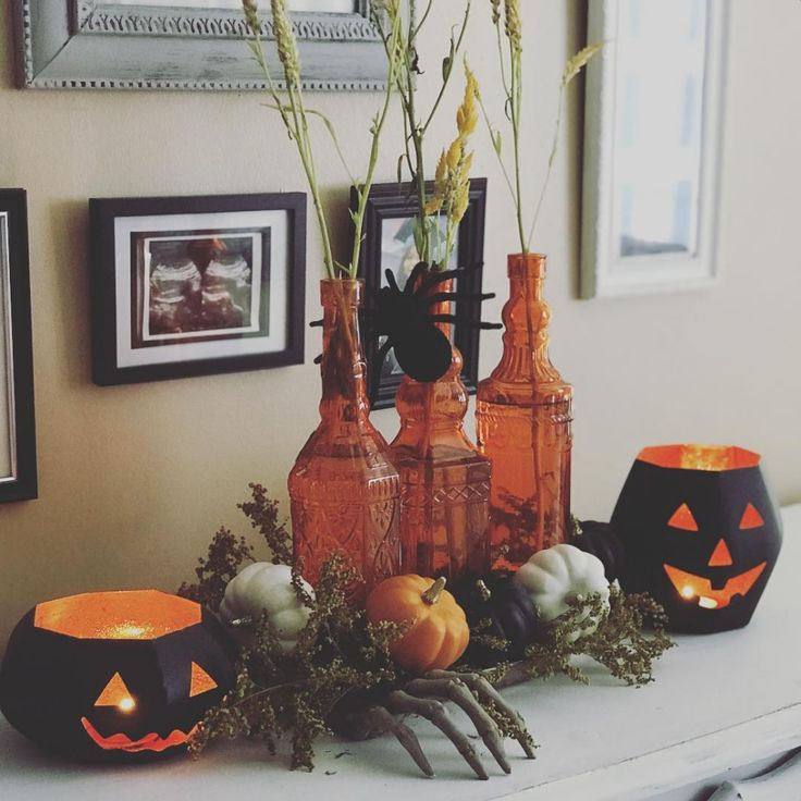 40 Elegant DIY Ideas To Craft Halloween Centerpieces