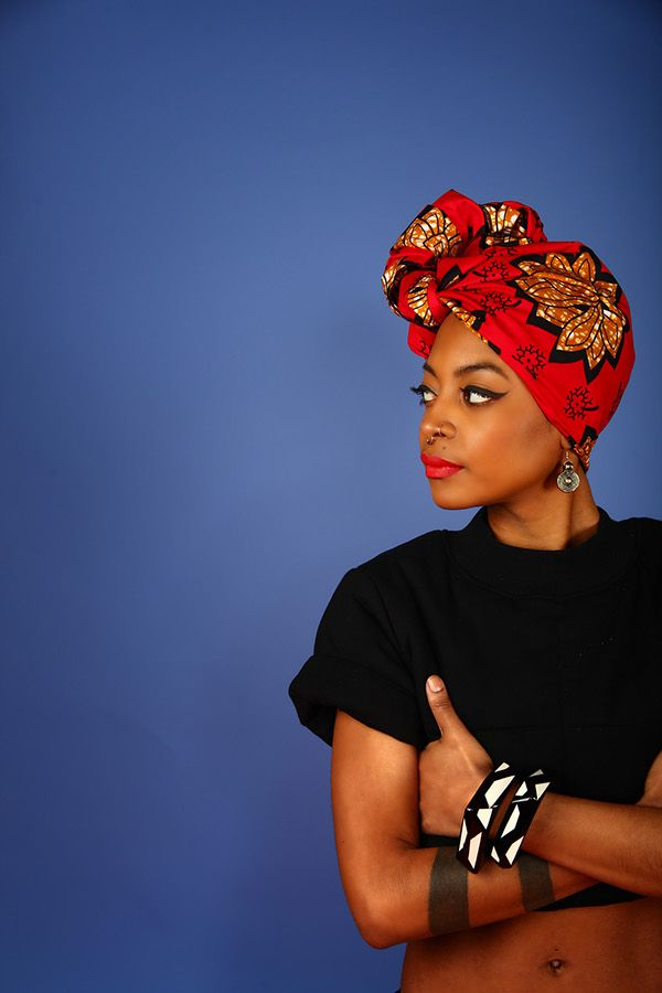 Editorial for woman's African head wrap brand, The Wrap Life // Photography: Dexter R. Jones