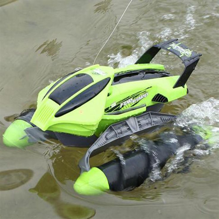 Electric RC Car toy-thread push Beach amphibious remote control boat remote control kids car toy > Newest remote control toys shop