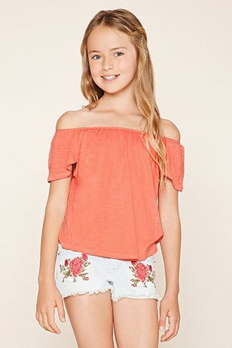 Girls Tulip-Back Top (Kids)