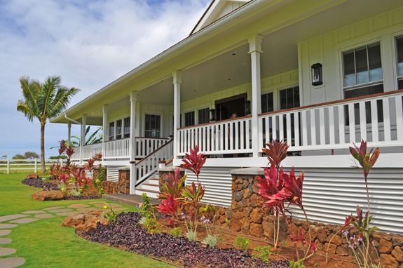 Plantation style home hawaii for Hawaiian plantation home plans