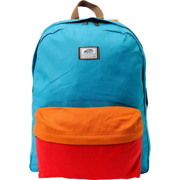 2972e9dba4 Vans Old Skool II Bright Blue  Canvas  Backpack  colorblock  zumiez ...