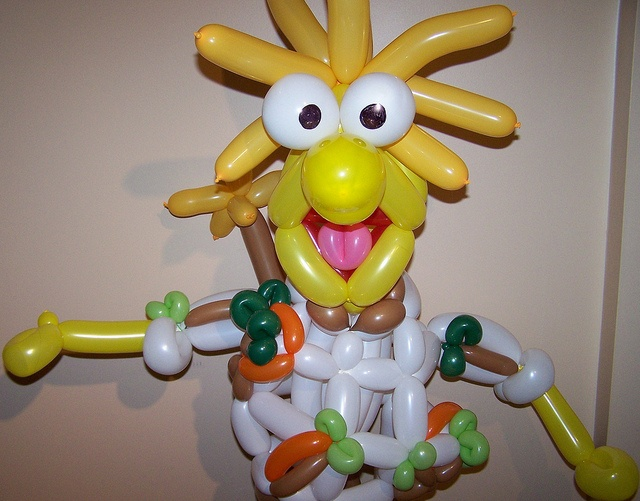 Wembley Fraggle by Black Cat Balloon Company, via Flickr - one day I will make this for Chris