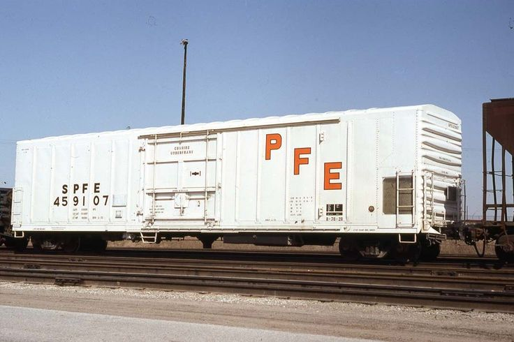 SPFE 459107 Mechanical Refrigerator Southern Pacific Series: Builder: Pacific…