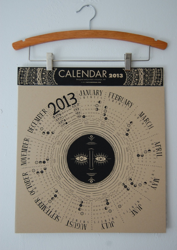 lunar calendar // caitlin keegan