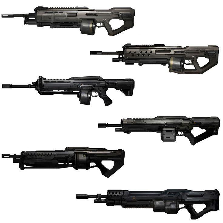 Halo 4 Art & Pictures,  Light Machine Gun