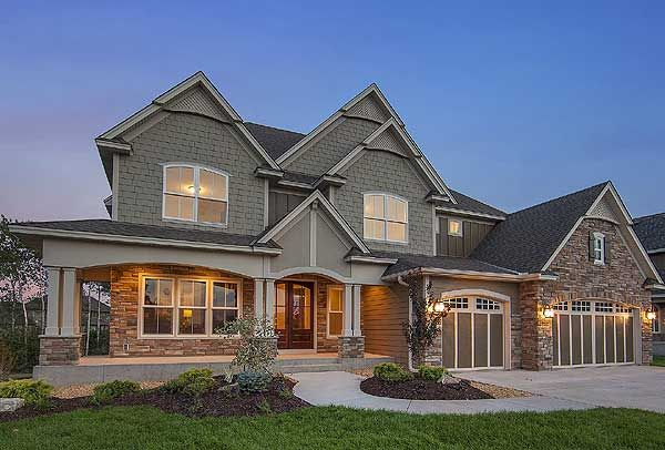Plan 73330HS  3,634 square feet 4 or 5 beds (depends on if you build out the lower level or not)