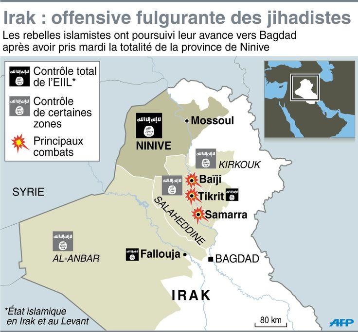 L'offensive djihadiste en Irak qui redessine le Moyen-Orient - Le nouvel Observateur