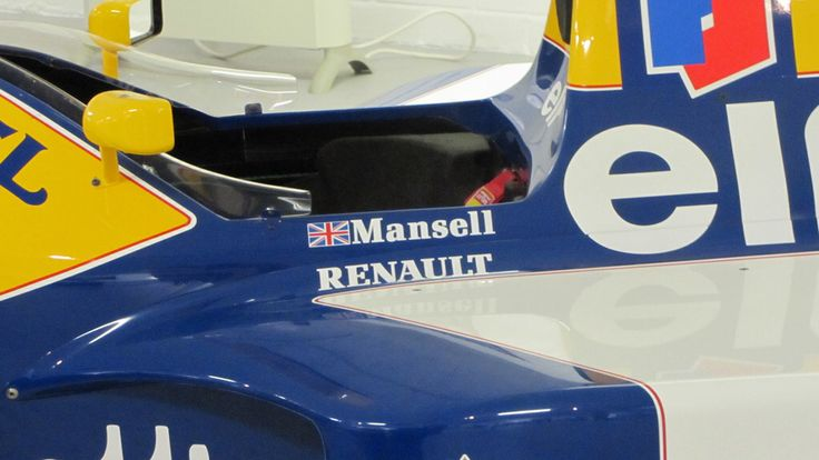 Williams F1 FW14B driven by the Nigel Mansell and the Italian Ricardo Patrese for the 1992 season. Catapulting Nigel to his first and only F1 world championship.