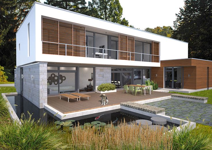 17 best images about daddy said i need to go to prefab on for Custom modern homes