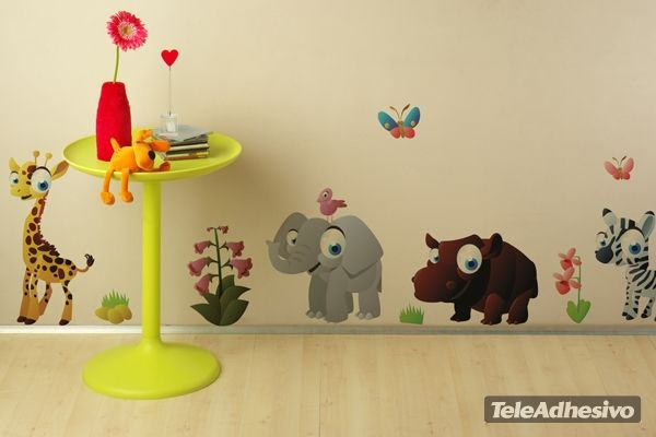 Kinderzimmer Wandtattoo Zebra