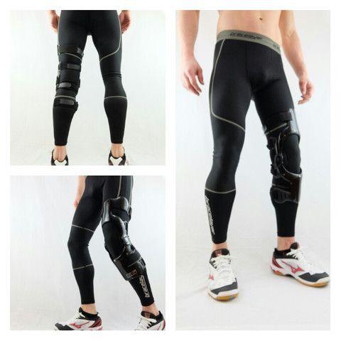 Do you wear a custom knee brace to combat severe knee instability?
