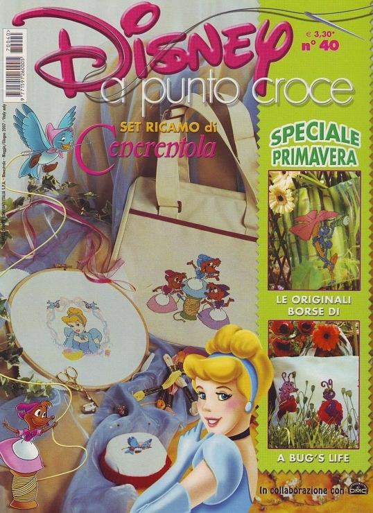 Cross stitch disney magazine