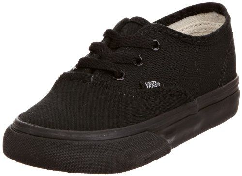 Vans AUTHENTIC, Unisex-Kinder Sneakers, Schwarz (Black/Black BKA), 23.5 EU - http://on-line-kaufen.de/vans/23-5-eu-vans-authentic-vjxi4ll-unisex-kinder-9