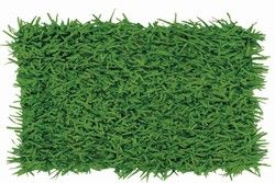Grass Mat is 15 inches wide and 30 inches across