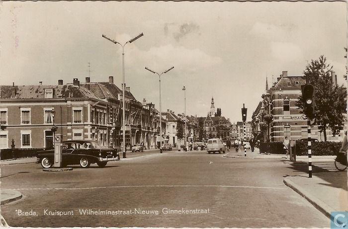 Breda - Nieuwe Ginnekenstraat - 1965.