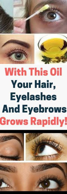 With This Oil Your Hair, Eyelashes And Eyebrows Grows Rapidly.. Need to know!!!!