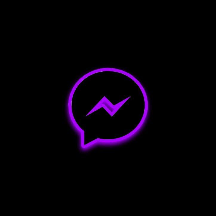 Icono De Messenger Morado Wallpaper Iphone Neon Iphone Wallpaper Logo Snapchat Icon