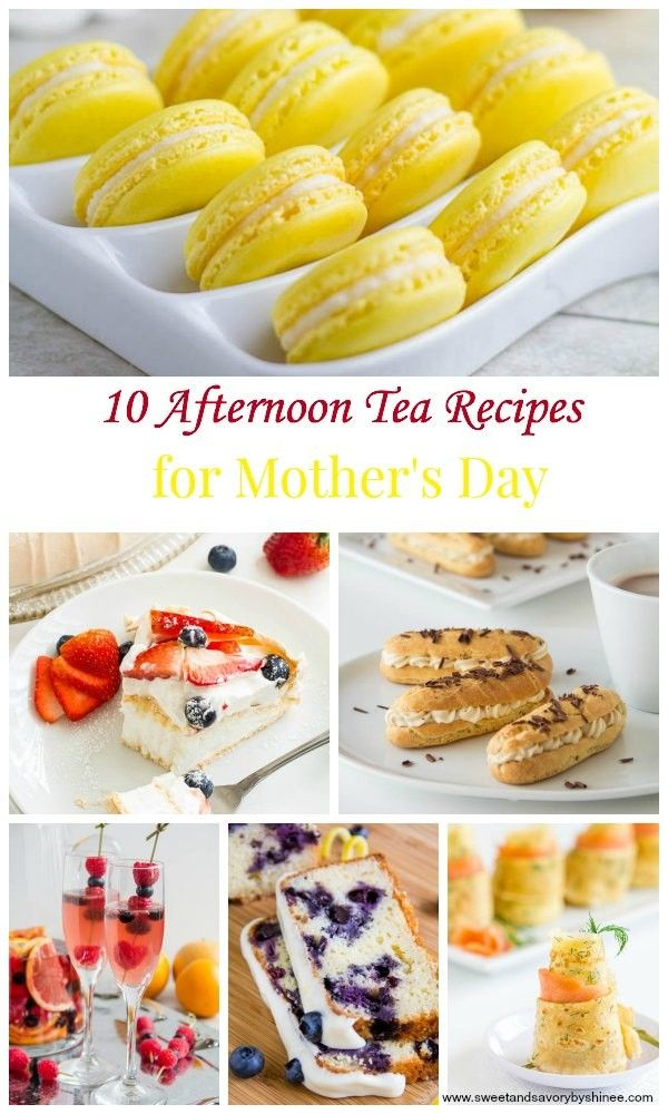 10 Afternoon Tea Recipes for Mother's Day