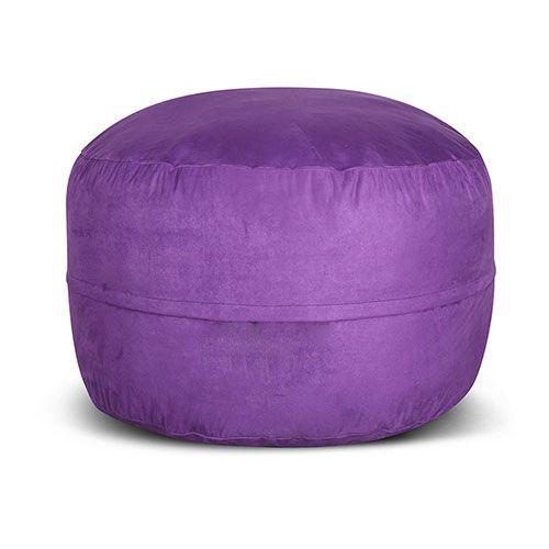 Foam Purple Bean Bag Style Chair