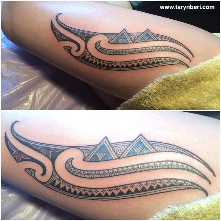 Māori Art Tattoo http://www.tarynberi.com