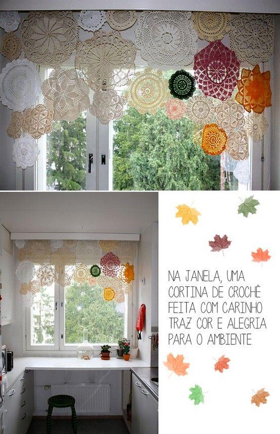 17 best images about lámparas y cortinas de ganchillo on pinterest ...